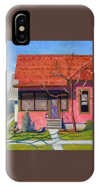 Boise Ridenbaugh St 02 IPhone Case