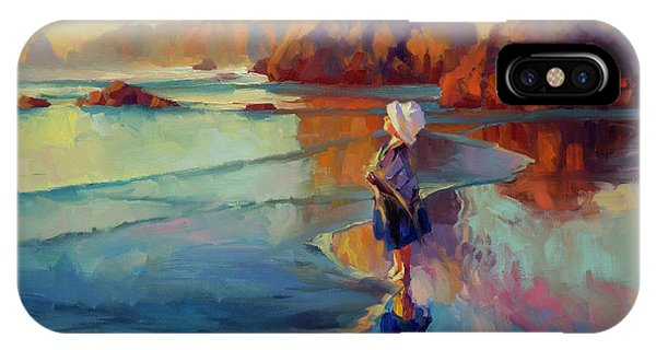 Child iPhone Case - Bold Innocence by Steve Henderson