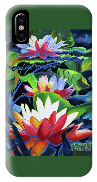 Bold Lilypads IPhone Case