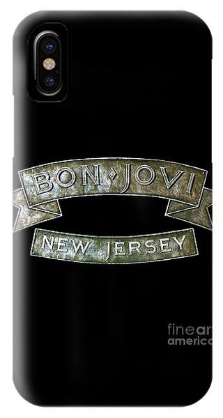 Bon Jovi New Jersey IPhone Case