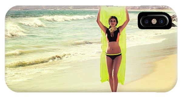 Bond Girl Laguna Beach IPhone Case