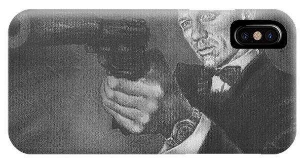 Bond Portrait Number 3 IPhone Case