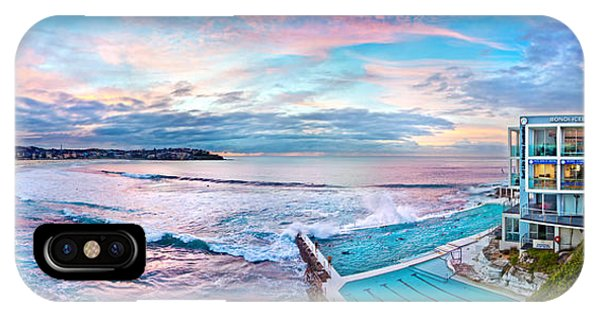 Bondi Beach Icebergs IPhone Case