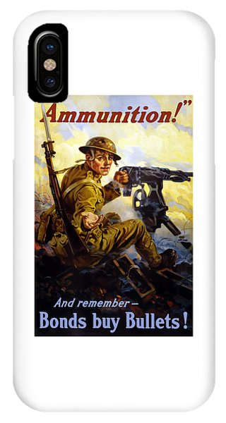 Ammunition  - Bonds Buy Bullets IPhone Case