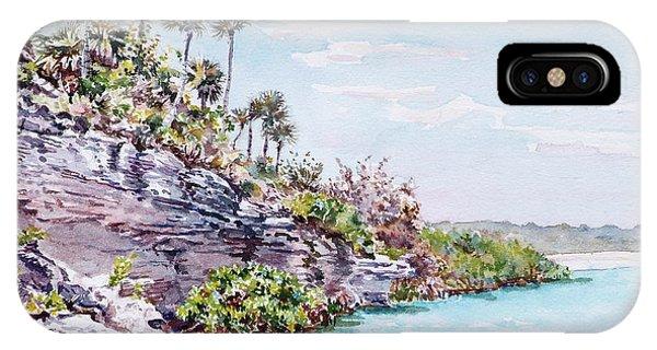 Bonefish Creek Watercolour Study IPhone Case