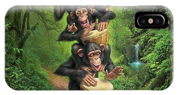 Jungle iPhone Case - Bongo In The Jungle by Mark Fredrickson