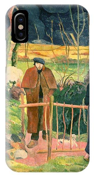 Bonjour Monsieur Gauguin IPhone Case