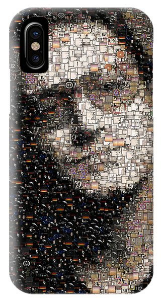 Bono U2 Albums Mosaic IPhone Case
