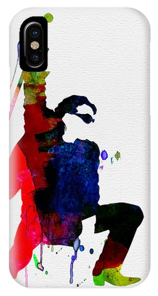 Irish iPhone Case - Bono Watercolor by Naxart Studio