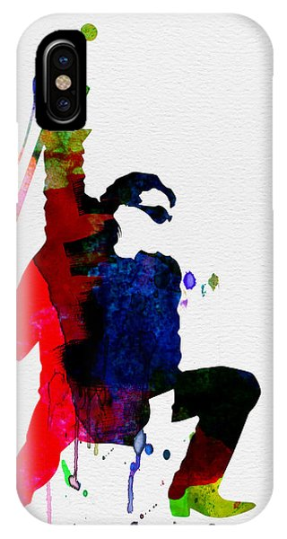 Jazz iPhone Case - Bono Watercolor by Naxart Studio