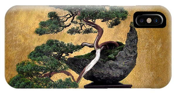 Bonsai 3 IPhone Case