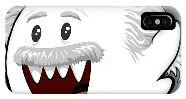 Humor iPhone Case - Boo-stein by Olga Shvartsur