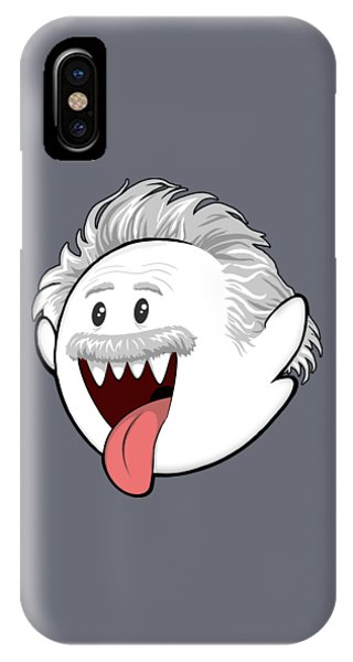 Ghost iPhone Case - Boo-stein by Olga Shvartsur