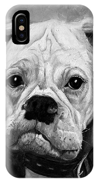 Boo The Boxer IPhone Case