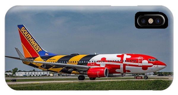 Boeing 737 Maryland IPhone Case