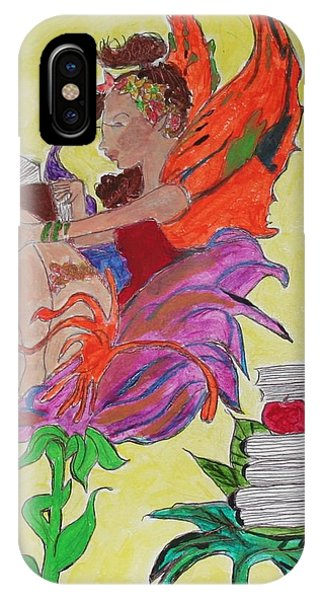 Book Fairy IPhone Case