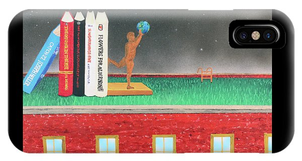 Books Of Knowledge IPhone Case