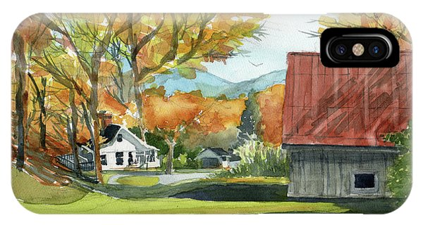 Boone Bungalow And Barn IPhone Case
