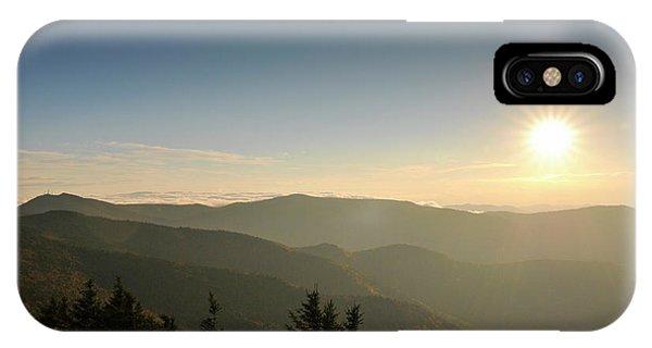 Boone Nc Area Sunset IPhone Case