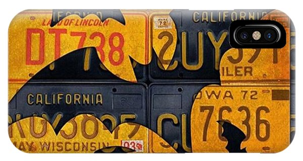 Orange iPhone Case - #boo  @fineartamerica #licenseplates by Design Turnpike