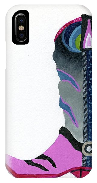 Boot Scootin IPhone Case
