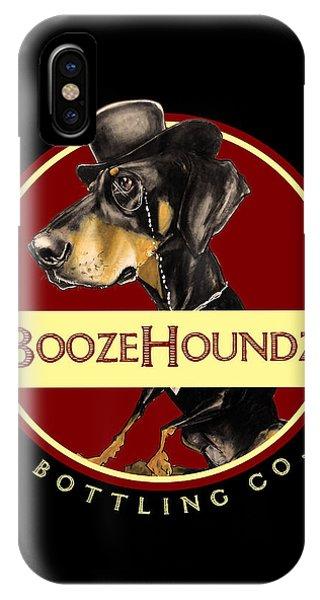 Boozehoundz Bottling Co. IPhone Case
