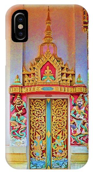 Bophut Temple In Thailand IPhone Case
