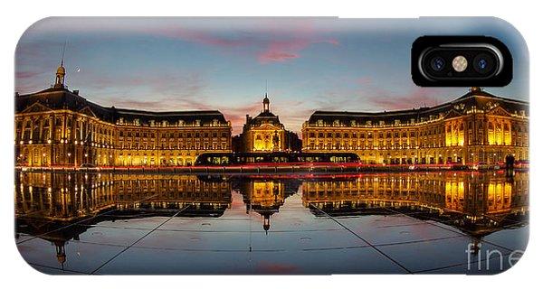 Bordeaux Reflections IPhone Case