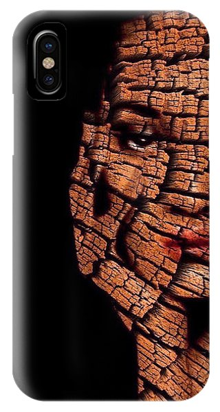 IPhone Case featuring the digital art Bored Stiff by ISAW Company