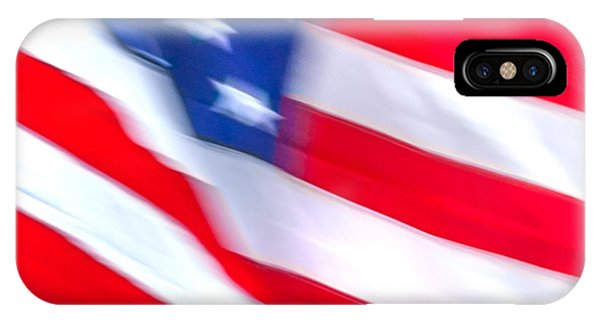 Stars And Stripes iPhone Case - Born In The Usa by Az Jackson