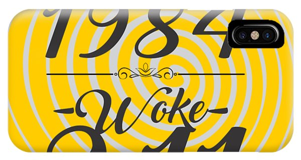 Inside iPhone Case - Born Into 1984 - Woke 9.11 by Jorgo Photography - Wall Art Gallery