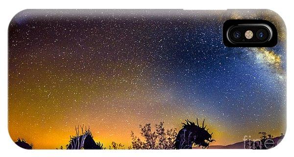 Borrego Springs Dragon IPhone Case
