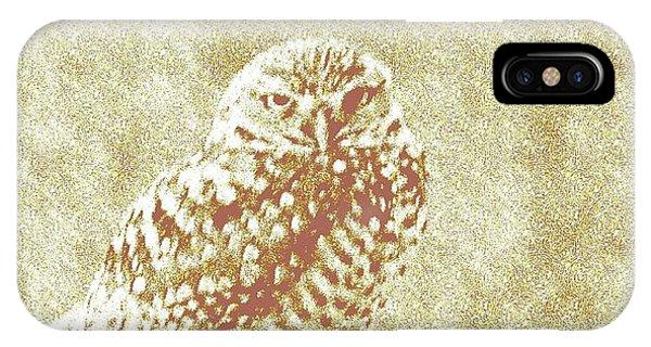 Borrowing Owl IPhone Case