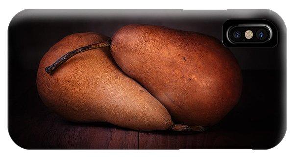 Pear iPhone Case - Bosc Pears by Tom Mc Nemar