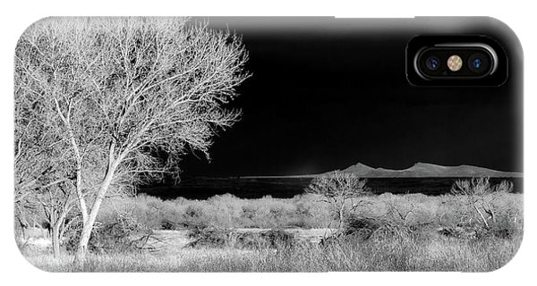 Bosque Del Apache - Infrared IPhone Case