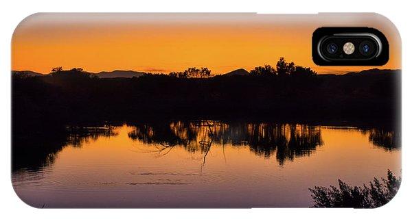 Bosque Del Apache Sunset IPhone Case
