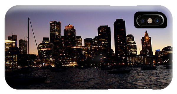 Boston At Night IPhone Case