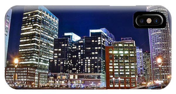Boston Across The River IPhone Case