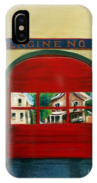 Boston Fire Engine 21 IPhone Case