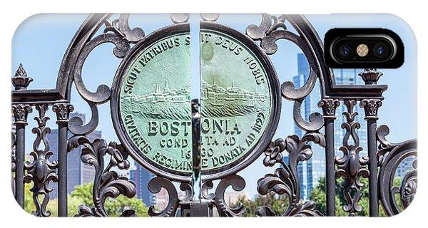 Boston Garden Gate Detail IPhone Case