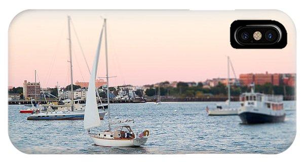 Boston Harbor View IPhone Case