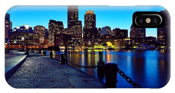 Boston Harbor Walk IPhone Case