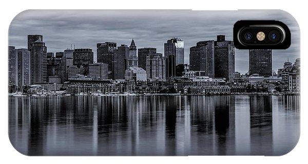 Boston In Monochrome IPhone Case