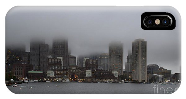 Boston In The Fog IPhone Case