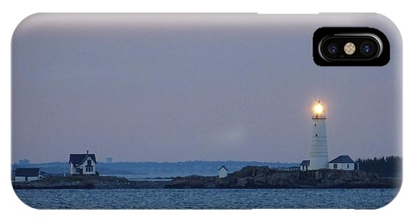 iPhone Case - Boston Light Lighthouse  by Red Cross
