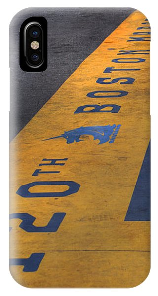 Boston Marathon Finish Line IPhone Case