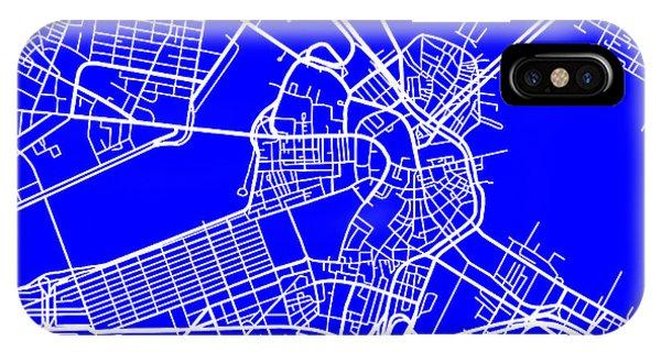 Boston Massachusetts City Map Streets Art Print   IPhone Case