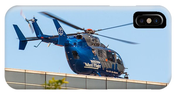 Boston Medflight IPhone Case