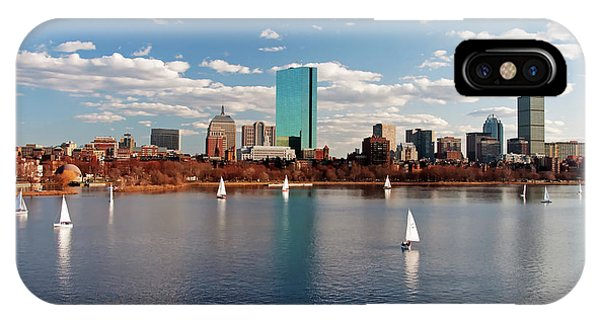 Boston On The Charles  IPhone Case