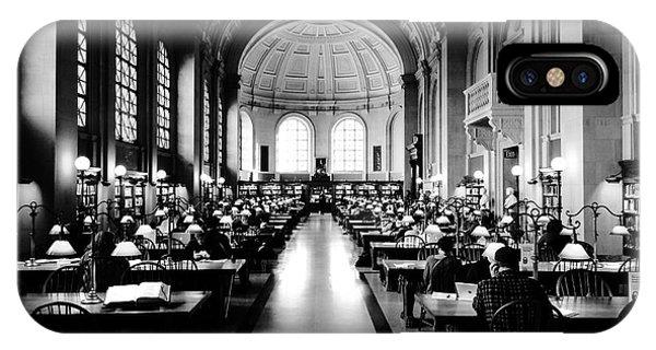 Boston Public Library... Or Hogwarts? Phone Case by JMerrickMedia